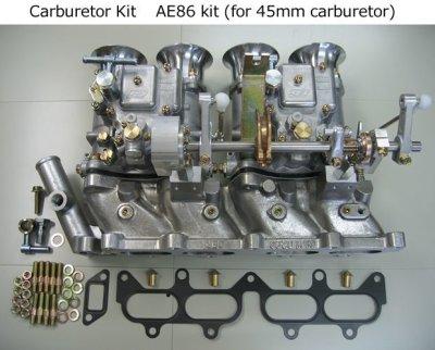 Photo1: 4AG Carburetor Kits
