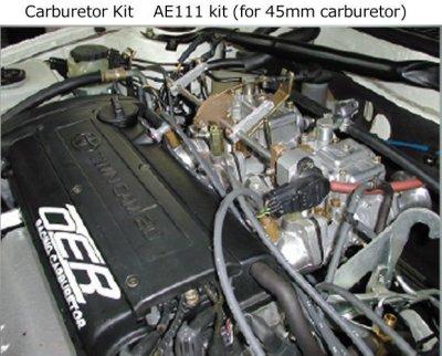 Photo2: 4AG Carburetor Kits