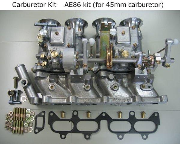 Photo1: 4AG Carburetor Kits (1)