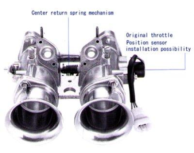 Photo1: Throttle Body (ITBs = Individual Throttle Bodies)